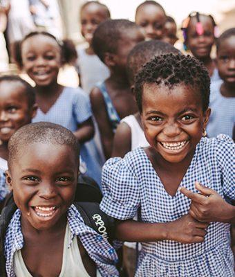 Kinderen uit Togo
